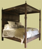 Period Style Oak Four Poster Beds