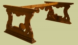 Bespoke dining table with Spanish influence