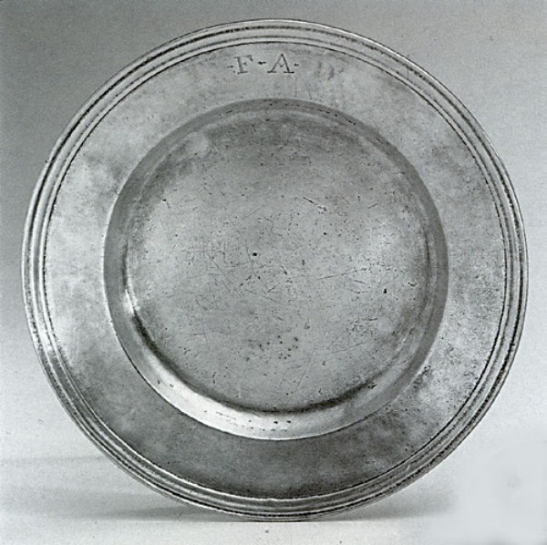Options available as standard & Pewter Plate | Italian Handmade Pewter Tableware | Authentic ...