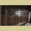 Half Tester Bed Oak Standard Size