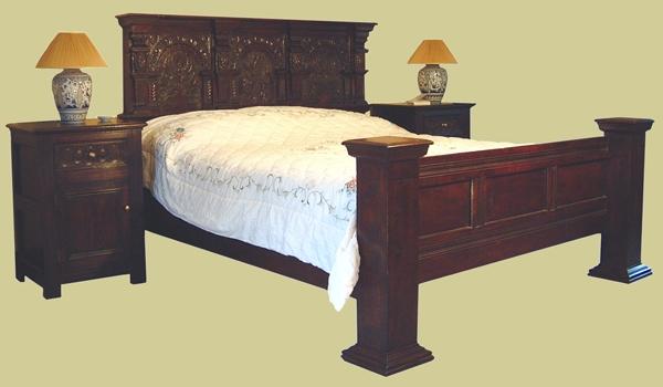Antique Bed Mattress Pad