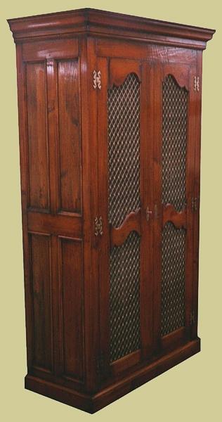 Cherry Wardrobe Mesh Door