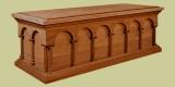 Oak blanket chest of 16th century Renaissance style