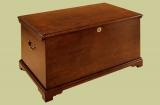 Oak seamans chest of plain and simple design