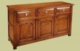 Oak Enclosed Low Dresser