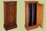 Oak cabinet for CD/DVD or adaptable for general storage