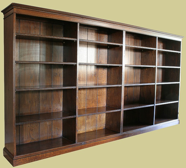 Handmade Bespoke Oak Bookcase