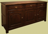 Sideboard Dresser Solid Oak
