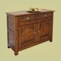 Amazing value handmade small 2 drawer oak dresser base.