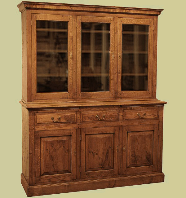 glass cabinets in kitchen oak 3door glazed display cabinet custom made display 3769