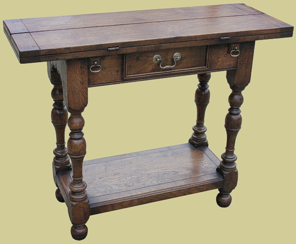 Oak Folding Dining Room Table And Chairs