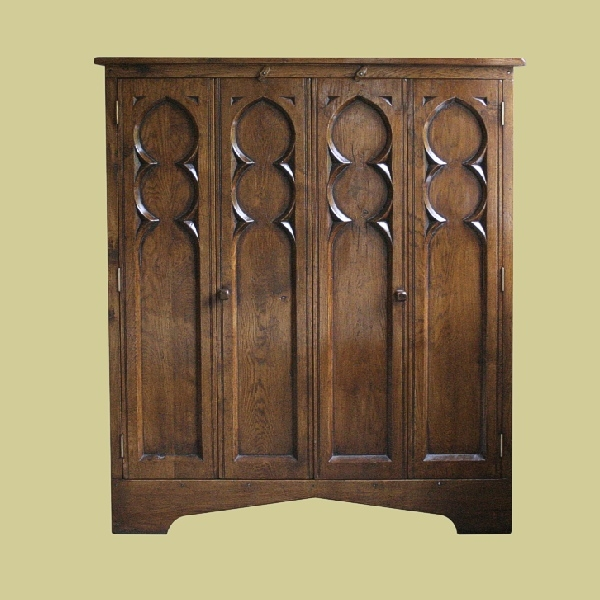 Gothic style cupboard