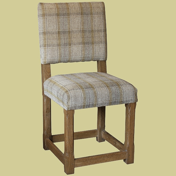 Upholstered Kitchen Chairs Wood Back With  Design