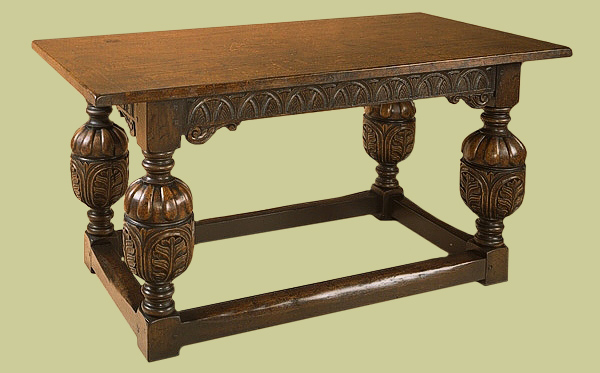 Hand Carved Dining Room Tables