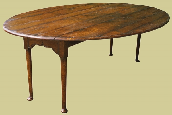 Folding Dining Table Fruitwood Small