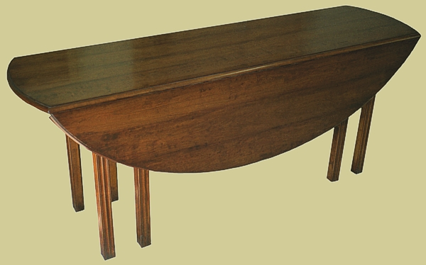 Gateleg Table Chippendale Fruitwood