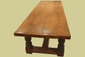 Besp.Heavy Oak Refectory Table