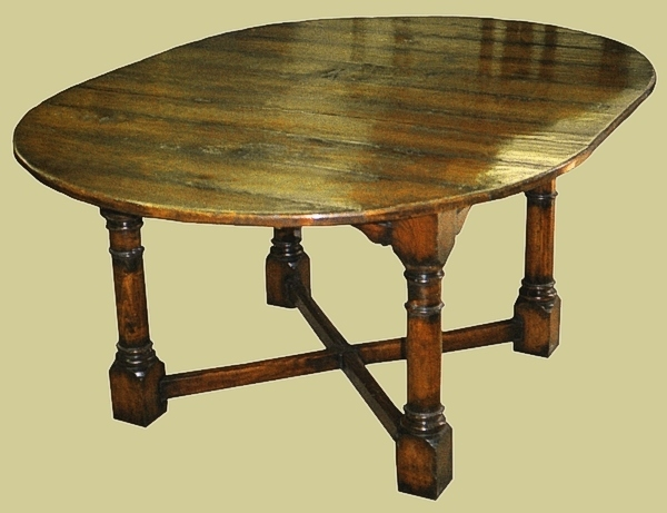 reproduction dining tables. round extending dining table reproduction tables
