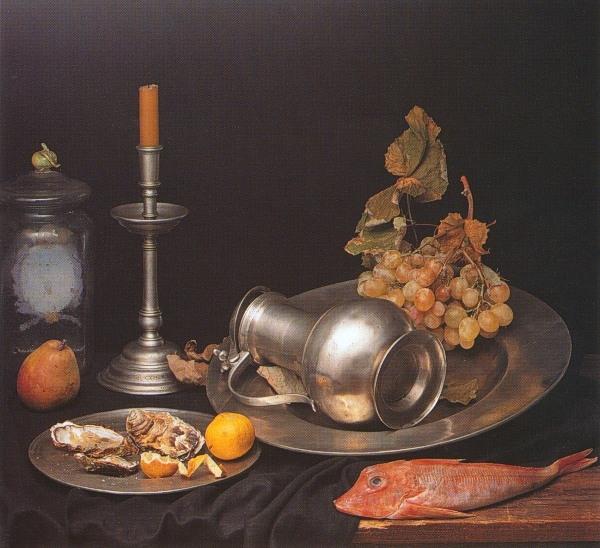 Antique Pewter Kitchen Faucet