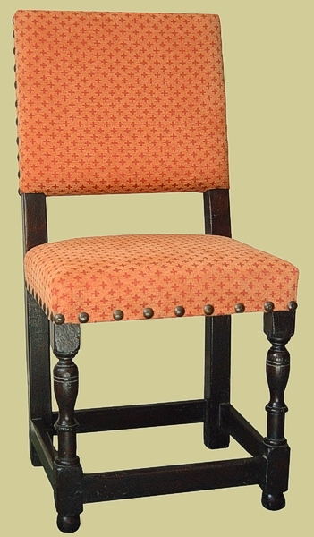 Oak Farthingale Style Side Chair