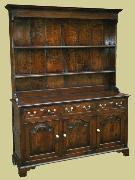Country Drsr 3 Drawers Oak