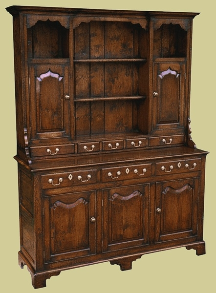 Cabinet Drsr Handmade Oak