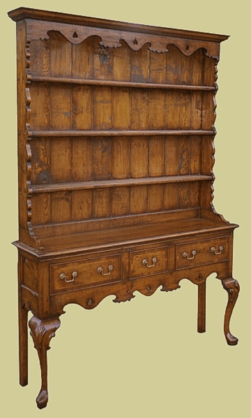 Cherrywood country dresser