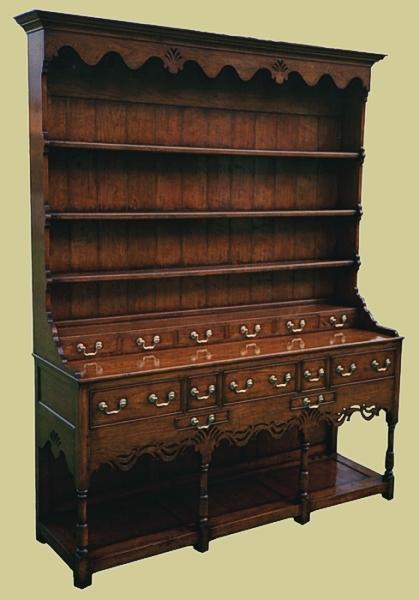 Potboard Dresser Intricate Fretted Apron
