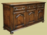 Oak Cabinet Dresser