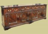 Long Sideboard Dresser Oak
