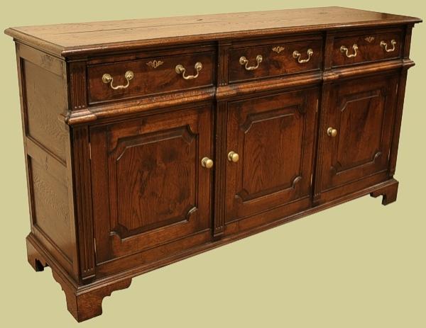 Oak Welsh Dresser Style Base