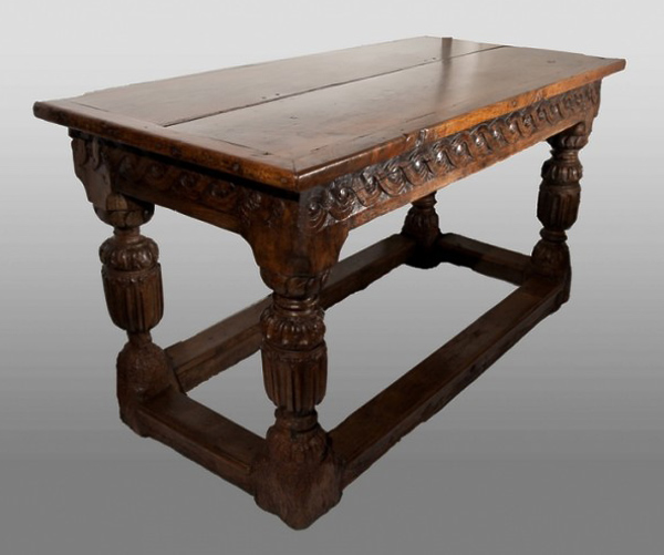 Carved table 1560
