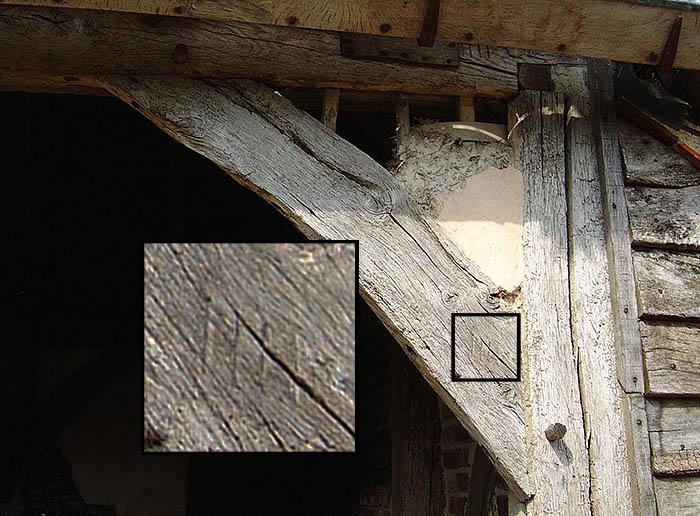 Carpenters marks detail for blog