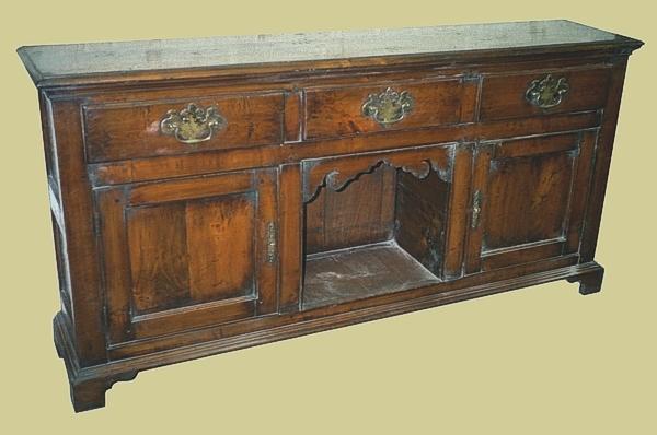 Oak Dog Kennel Potboard Dresser Base