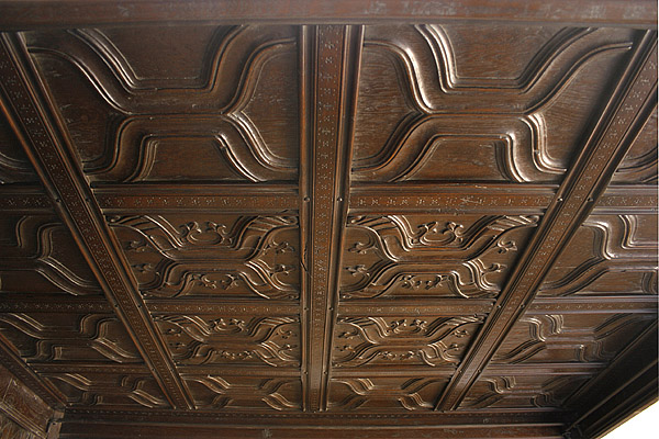 Hand carved parchemin panels