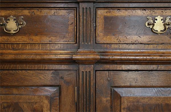 Montgomeryshire dresser base detailing