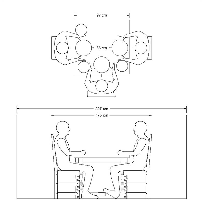 A guide to choosing the ideal dining table width for Dining room tables 38 inches wide