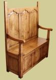 Oak box settle period style