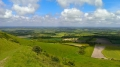 This is East Sussex, from Bo Peep Hill, on The South Downs Way.