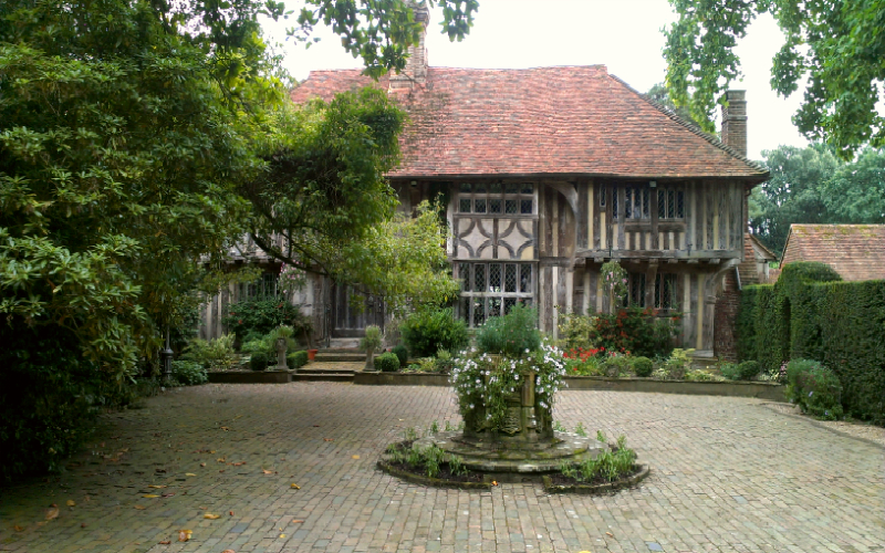 Wealden Hall House in Sussex
