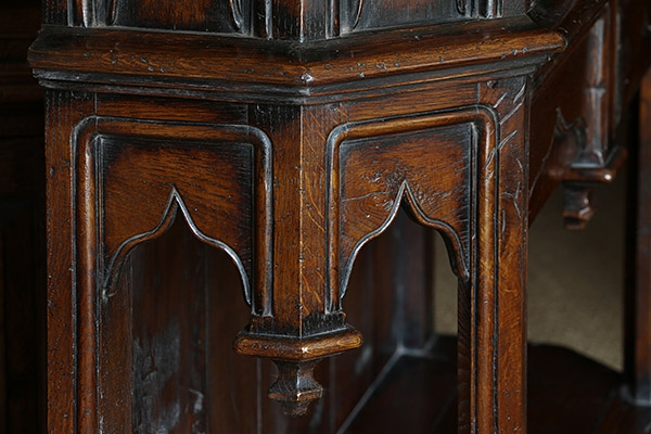 Medieval type ogee arched furniture panels