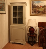 Painted Glazed Display Cabinet