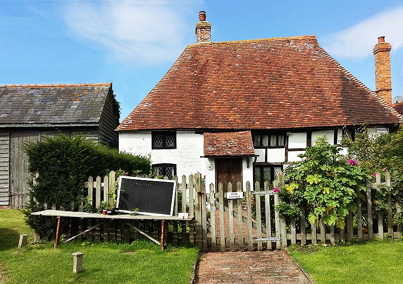 Tiny cottage in East Sussex