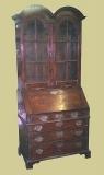 Oak 4-Drawer Double Domed Top Bureau