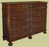 10 Drawer Chest Drawers Mod. Runners