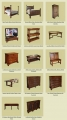 New reproduction oak furniture products.
