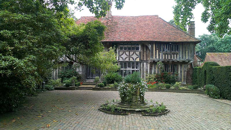 Stonehill Farm, a Wealden hall house in East Sussex