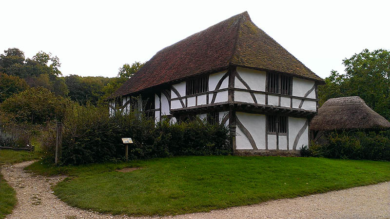 Bayleaf Farmhouse at the Weald and Downland Open Air Museum