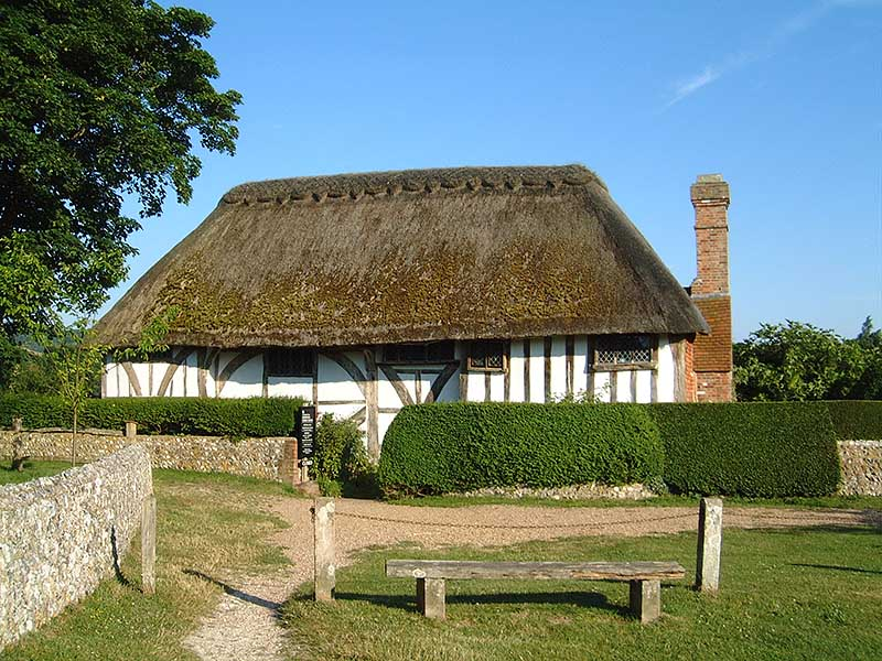 Clergy House, a Wealden hall house in Sussex