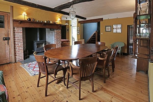 Antique Extension Kitchen Table